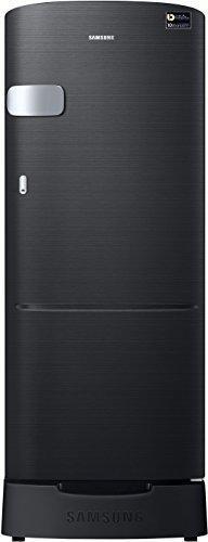 Samsung 192 L 5 Star ( 2019 ) Direct Cool Single Door Refrigerator(RR20M1Z2XBS/HL, Black, Inverter Compressor)
