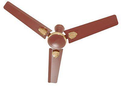 Polycab High Speed 400 RPM Ceiling Fan (AMAZE DLX Brown)