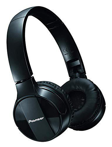 Pioneer Bluetooth Lightweight On Ear Wireless Stereo Headphones , Black (SE-MJ553BT-K)