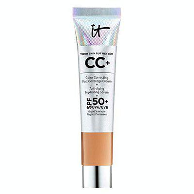 It Cosmetics Your Skin But Better CC Cream with SPF 50+ Travel Size -Rich - 0.406oz