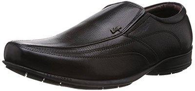 5b913f58535 Lee Cooper Men s Black Leather Formal Shoes (LC9235 BLACKP1 42) - 8 UK