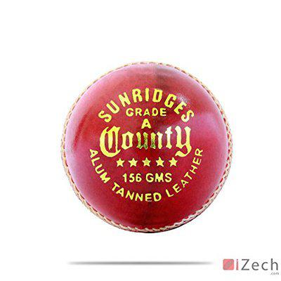 SS County Cricket Ball, Pack of 6