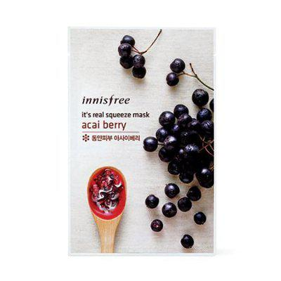 # Acai Berry : innisfree It's Real Squeeze Mask x 10ea