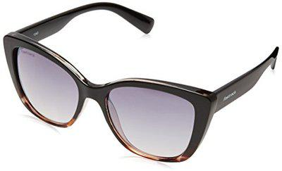 Fastrack Gradient Square Women's Sunglasses - (P368BK2F|55|Black Color)