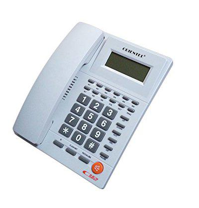 Italish KX-T1588 Caller Id Phone One Touch Redial Landline Telephone -White