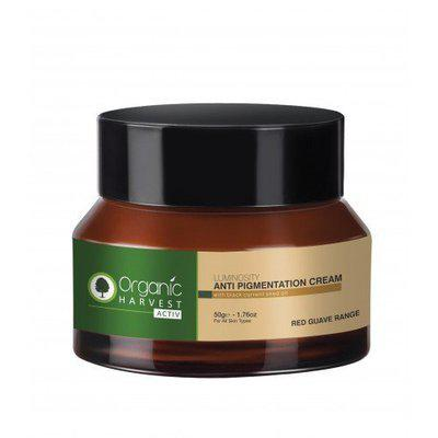 Organic Harvest Luminosity Anti Pigmentation Cream With Black Current Seed Oil 50 gm With Ayur Product