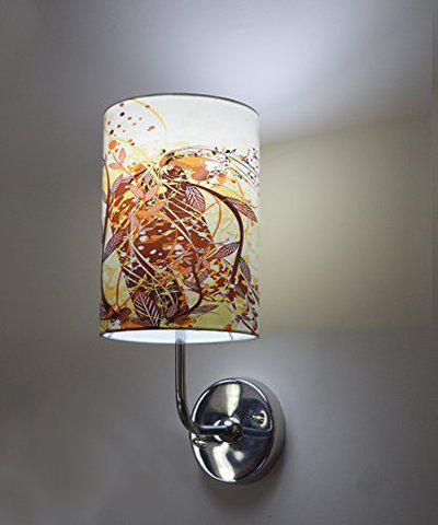 Light Angle Handmade Colored Paper Sheet Wall Lamp for Home Decoraton (Multi Color 2)