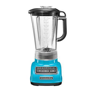 KITCHEN AID 5KSB1585BCL 5 SPEED STAND BLENDER CRYSTAL BLUE 240 Juicer Mixer Grinder 1 Jar Crystal Blue
