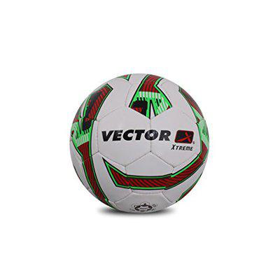 Vector X Xtreme-WHT-RED-GRN-5 Football, (White/Red/Green)