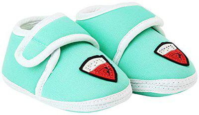 Neska Moda Baby Boys & Girls Sport Mint Booties for 0 to 12 Months Infants