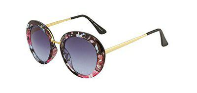 TED SMITH Gradient Oval Women's Sunglasses - (TSS-1028S_C3|59|Blue Color Lens)