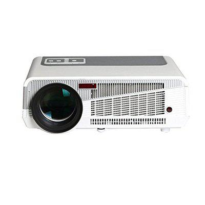 Bring Fun by PLAY Projector 5500 Lumens AV, USB, SD, VGA, HDMI Home Theater 3D HD LED Projector with 1 Year Warranty