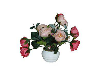 Loxia Multi Artificial Flower with Pot