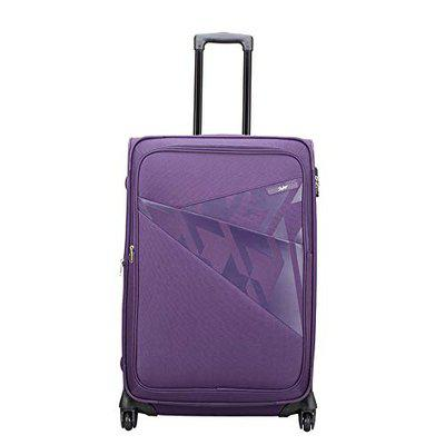 Skybags Footloose Wellington Polyester 66 cms Purple Softsided Suitcase