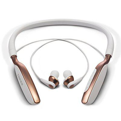 Edifier W360BT Neckband Wireless Bluetooth Headphones Earphones with Playback and Volume Controls - White