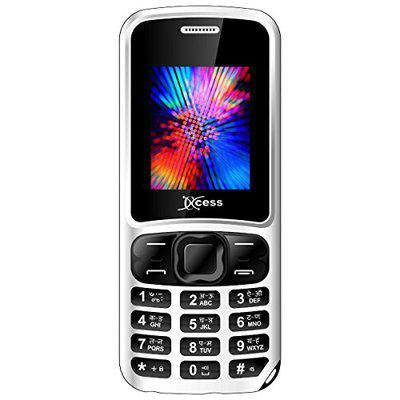 Xccess X-499 Indo Dual Sim Mobile Phone (White)