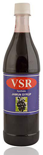 V.S.R Jamun Syrup, 700 ml (Pack of 6)