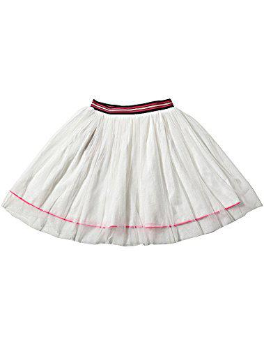 Tiddlywings Cotton White Candy Floss Lining Mesh Skirt for 18 Month Toddler Girl