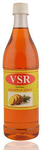 V.S.R Pineapple Syrup, 700 ml (Pack of 6)