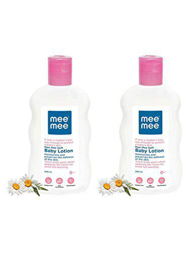 Mee Mee Baby Lotion (With Fruit Extracts- 200 ml (Pack of 2))