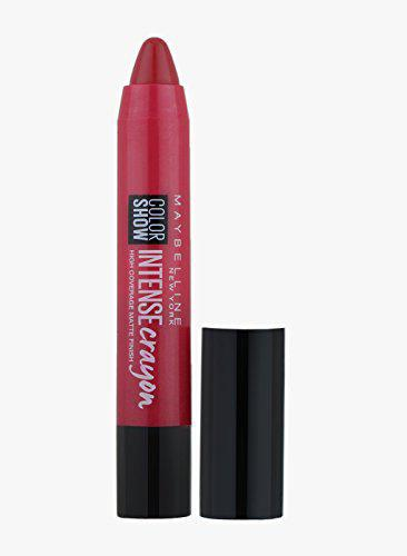 Maybelline New York Color Show Intense Lip Crayon, Intense Red, 3.5g