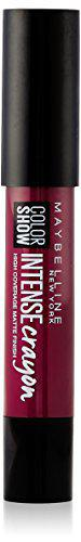 Maybelline New York Color Show Intense Lip Crayon, Bold Burgundy, 3.5g