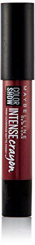 Maybelline New York Color Show Intense Lip Crayon, Dark Chocolate, 3.5g
