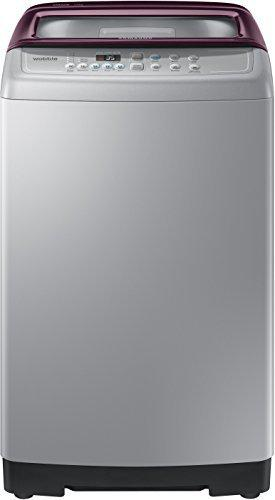 Samsung 7 kg Fully-Automatic Top Loading Washing Machine (WA70M4300HP/TL, Imperial Silver)