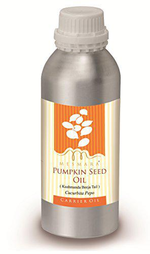 Mesmara 100% Pure Natural and Undiluted Cold Pressed Pumpkin Seed Carrier Oil, 500ml