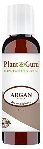 Argan Oil 2 Oz. Morocco Virgin, Unrefined Cold Pressed 100% Pure Natural Carrier - Skin, Face, Body And Hair Growth Moisturizer. Great For Dyi Creams, Lotions And Lip Balm.
