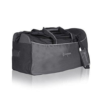 Harissons Volcano Duffel Grey Black Travel Bags