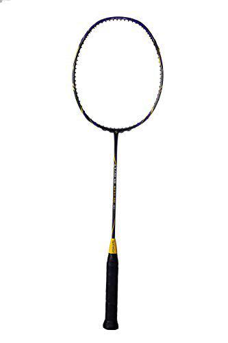 Spinway Professional Light Weight Graphite Badminton Racket Extreme Kevlar M1 Unstrung Racket with Full Cover Bag