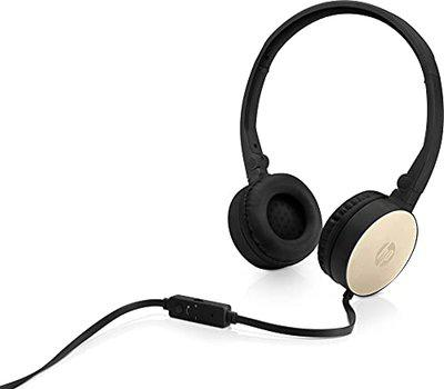 HP H2800 Stereo Foldable Headset with Mic (Gold)