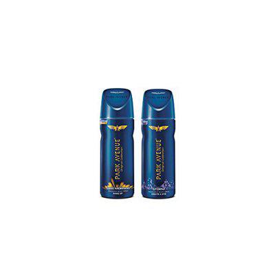 Park Avenue Good Morning and Storm Deodorant, 130ml each, Combo of 2
