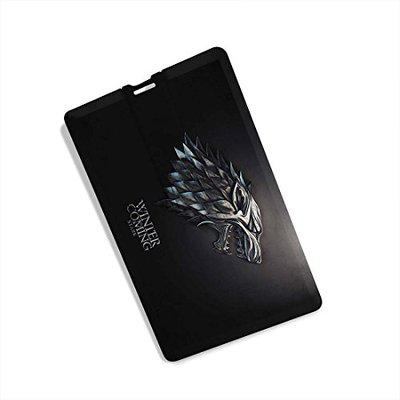 100yellow Game of Thrones Printed 16GB Credit Card Shape Stick USB Flash Drive (Multicolour)