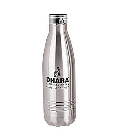Dhara Stainless Steel Water Bottle for Hot & Cold Water (700ml)-DHARA18