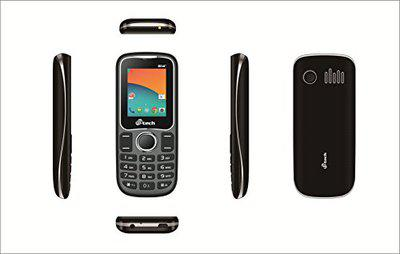 M Tech G14+ Feature Phone (Black and Grey)