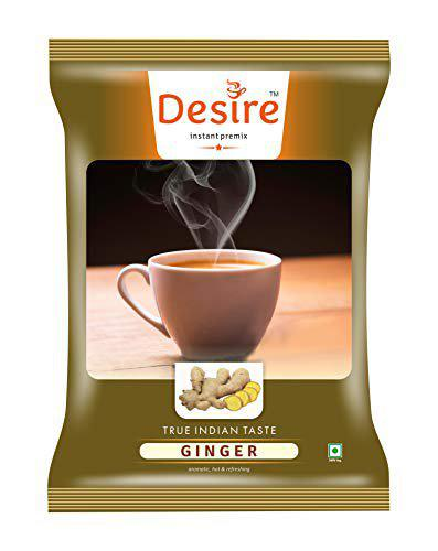 Desire Ginger Tea Instant Premix 500 GMS for Manual and Vending Machine Usage