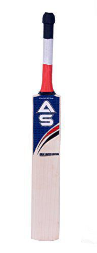AS English Willow Cricket Bat, Size 4
