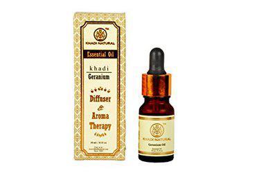 Khadi Natural Geranium Oil Diffuser & Aroma Therapy (10 Ml)