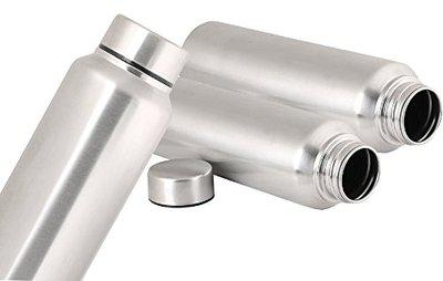Kuber Industries Stainless Steel Fridge Water Bottle/Refrigerator Bottle/Thunder (1000 ML)-Kitchenware Set of 3 Pcs (Code-BT20)