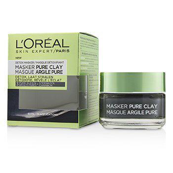 L'OrealSkin Expert Pure Clay Mask - Detoxifies & Clarifies50ml/1.7oz