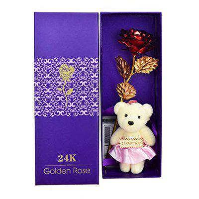 Valentine Gifts Artificial Rose by Lilone (Rose Teddy)