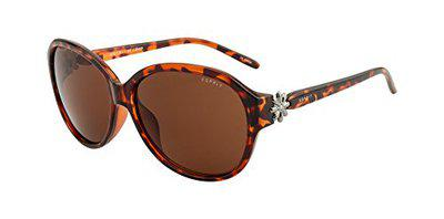 ESPRIT UV Protected Oval Women's Sunglasses - (TET0112|59|Brown Color Lens)