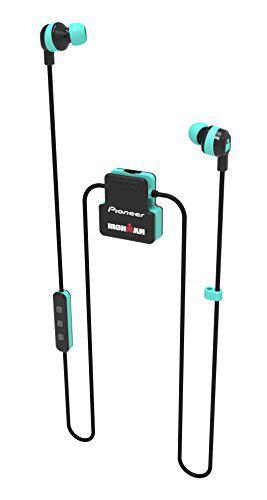 Pioneer SE-IM5BT-GR Ironman Sweat-Resistant Sports Earphones Green