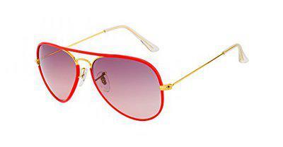 TED SMITH Gradient Aviator Unisex Sunglasses - (TS3026JM_C2|60|Grey Color Lens)