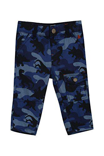 UFO Baby Boys' Relaxed Regular Fit Trousers (AW17-NDF-INF-3143_Blue_6-9 M)