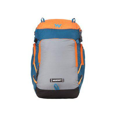 Wildcraft 30 Ltrs Blue_Org Casual Backpack (11639-Blue_Org)