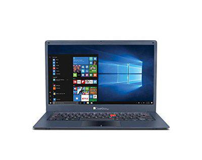 iBall Marvel 6 iBall CompBook V3.0 2018 14-inch Laptop (Celeron N3350/3GB/32GB/Windows 10 Home/Integrated Graphics), Metallic Grey