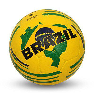 Nivia Country Colour Rubber Football ( Size: 5, Color : Multicolour, Ideal for : Training/Match )
